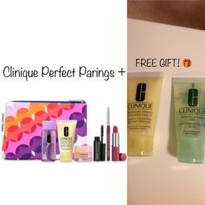 NWT Clinique Perfect Pairings-Lips & Cheeks + Gift